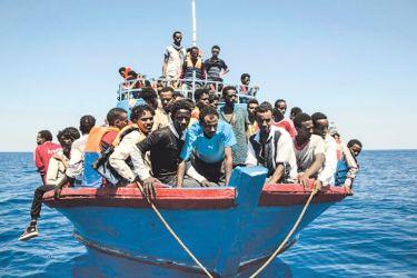 The migrant crisis is on of the European Union's biggest problems.