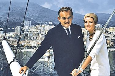 Hitchcock and other directors courted Kelly to act again after her marriage, but the prince (pictured with her in 1963 in Monaco) reportedly objected