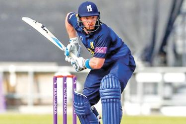 Batting at number four, Ian Bell hit 14 fours and two sixes as his unbeaten 145 came from 144 balls