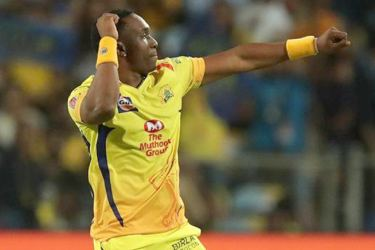 Dwayne Bravo plays for Chennai Super Kings the reigning IPL champs