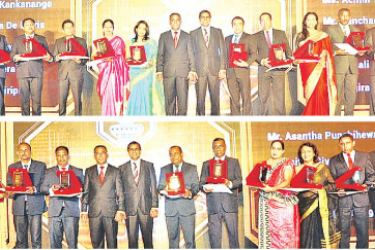 Recipients of Sampath 25 Years' Service Awards