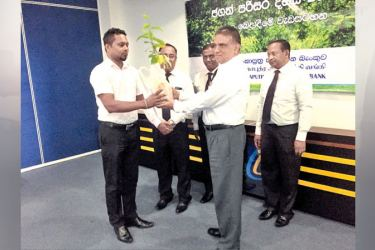 Chairman Sujith Kariyawasam and other officials of the Bank were present at the distribution ceremony.