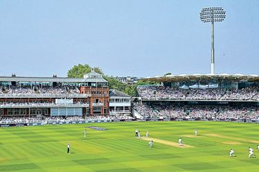 The proposals form the next part of the phased Masterplan for Lord's after the Warner Stand (right) was opened last year.
