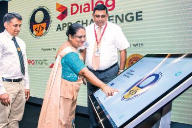 Lanka's first inter-school app being launched.