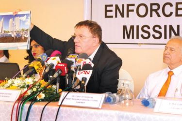 Dietmar Doering, Consultant of the Company, Tissa Jayaweera and other members from A.G.S.E.P. in Colombo