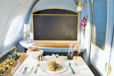 The Emirates Food and Wine Channels are now available on all flights