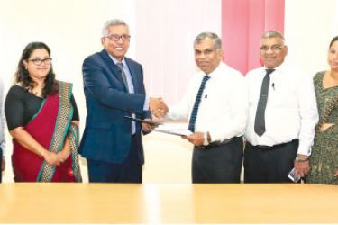 After the MoU signing between Department of Posts and Fairfirst Insurance