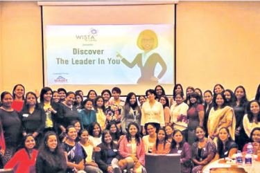 WISTA members at the development session.