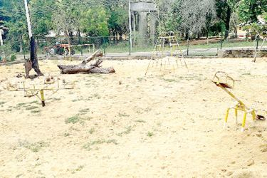 The Senanayake Chidren's Park. Picture by Kebithigollewa Group Corr.