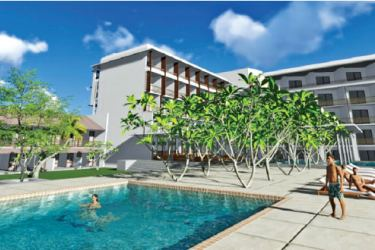 Impression of the new wing of Goldi Sands hotel