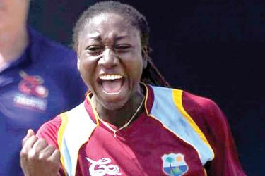 Stafanie Taylor took career best 4/12 to take the Player of the Match award.