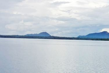 The Nuwara wewa. Pictures by Anuradhapura Central Special Corr.