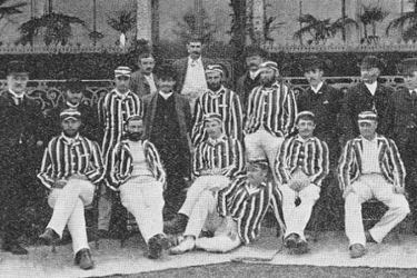Australian cricket team 1886