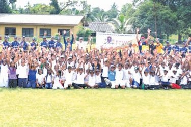 Over 450 boys and girls participated in awareness program