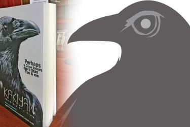 Kakiyan, The Story of a Crow  by Captain Elmo Jayawardena will be launched at M.D Gunasena Lilian Auditorium, No 5, Mihindu Mawatha, Colombo12, at 4.30 pm.