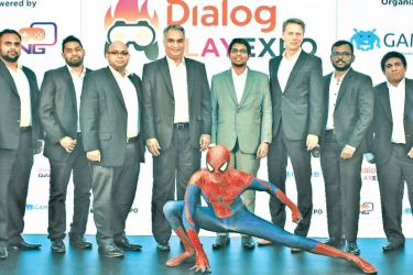 Udara  Gunasekara, Product Manager - Gaming Services, Dialog Axiata, Supun  Jayasinghe, Product Manager - Gaming Services, Dialog Axiata ,  Mangala  Hettiarachchi, Senior General Manager - Global and Content Services,  Dialog Axiata , Indika De Soyza, Senior Consultant, ICTA, Raveen  Wijayatilake, CEO, InGame Entertainment, Dr. Rainer Deutschmann, Group  Chief Operating Officer, Dialog Axiata, Vickum  Jayasekera, Director, InGame Entertainment and Ramesh Liyange,  Director, InGame Entertainment in Colombo.