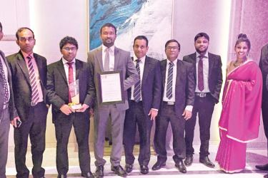 LAUGFS team at the CA Annual Report Awards ceremony