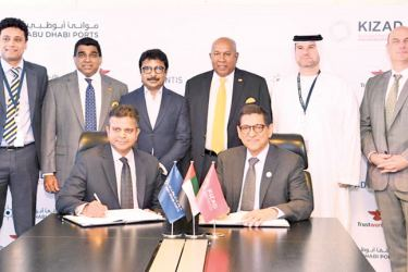 Hayleys Advantis and Trustworthy.ae Group signing the MoU