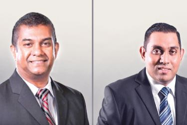 NDB Wealth Chief Executive Officer, Prabodha Samarasekera and Chief Operating Officer, Ruwan Perera