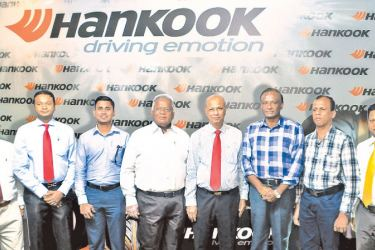 P.A.P. Dayarathna, General Manager (Trading Division),  Kavinda Rajapaksa, Director, Samson Rubber Industries, Dushan Gunawardene of Universal Tyres, Gemunu Gunawardene of Universal Tyres,  Ranatunga Rajapaksa, Managing Director, DSI Samson Group, Chandravaas Gunawardhana of Silvery Tyre House,  Ajith Chandima of Ajith Tyre Works and W.A. Sanjeewa of Sandagiri Tyres & Battery works.