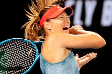 Maria Sharapova's win sets her up for a last 16 clash with in-form Australian hope Ash Barty. AFP