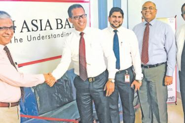 Doctor Asela Gunawardena Director Colombo South Teaching Hospital accepting the donation from Harsha Samaranayake Senior Area Manager Colombo Central Area. Fahim Azhar Branch Manager Kalubowila Branch, Nalaka Wijewardana DGM  Marketing and Personal Banking and  Shiyan Perera AGM Branch Credit and Deposit Mobilization is in picture.