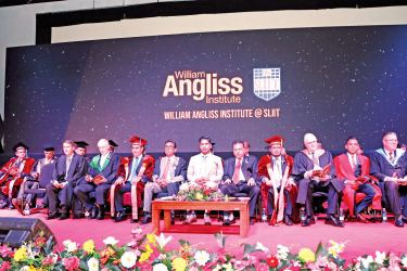 The William Angliss Institute @ SLIIT 'Advanced Diploma of Hospitality Management' and invitees