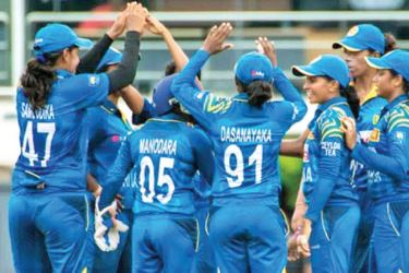 Sri Lanka Women cricketers take on South Africa in three World Cup qualifying matches.