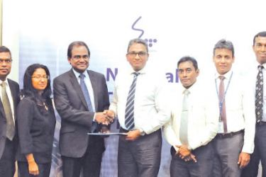 Participants from Capital Trust and SLT at the agreement signing from left to right include: from Capital Trust, Chanaka Balasuriya – Senior Manager Marketing, Methmal Seneviratne – Chief Financial Officer, Rohan Samaradivakara – Chief Technical Officer, Minoli Wickramasinghe – Director, Thushan Wickramasinghe – Chairman/CEO; from SLT side, Kiththi Perera – CEO, Imantha Wijekoon – Chief Sales Officer, Lakmal Jayasinghe – General Manager, Chethana Attanayake – General Manager, Kelum Priyantha – Business Deve