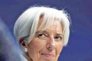 """Lagarde cited what she called """"four clouds"""" as the main factors undermining the global economy and warned that a """"storm"""" might strike."""