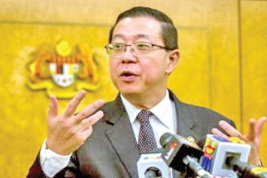 Finance Minister Lim Guan Eng. said the coupon rate should probably not exceed 0.65%