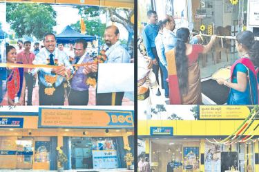 Moments captured during BOC Paranthan and BOC Waddukodai Branch openings.