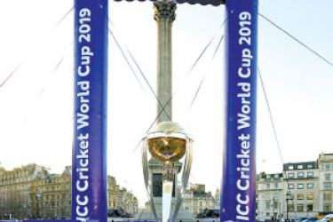 The official ICC Men's Cricket World Cup trophy tour began its 100-day journey of the country today transported in the 100% electric Nissan LEAF - Europe's top-selling electric vehicle (EV) - making this tour the first ICC Trophy Tour powered by an all-electric vehicle. The Trophy Tour will compromise of over 100 events across 115 locations to ensure all fans get the opportunity to 'get up close and personal' with the trophy.