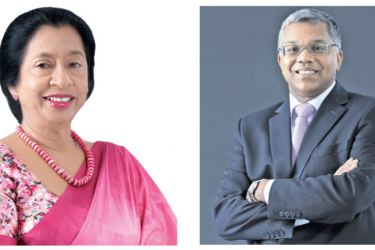 Chairperson of HNBA and HNBGI Rose Cooray & Managing Director and CEO Deepthi Lokuarachchi.