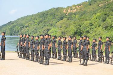 The 26th intake of the Navy's Special Boats Squadron (SBS) which passed out on Saturday.