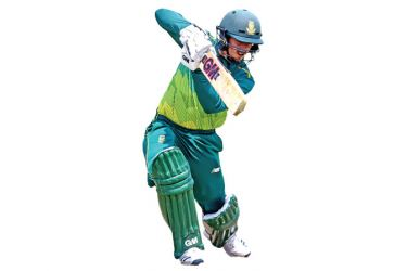 South Africa's Quinton de Kock bats during the second one-day international ODI cricket match, South Africa versus Sri Lanka at the Centurion's SuperSport Park stadium in Pretoria on March 6. AFP