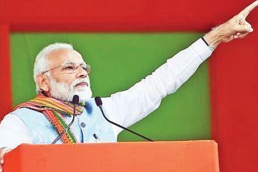 Indian Prime Minister Narendra Modi remains popular but faces a challenge at the polls.