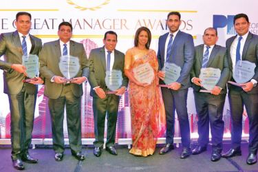 Six Managers from Allianz Lanka with Great Manager awards