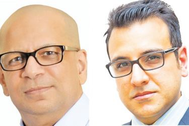 MTI's CEO Hilmy Cader & MTI's Investment Banking Specialist Naush Beg