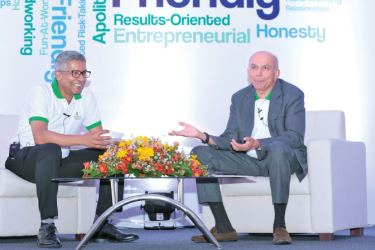 Dr. Sanjeev Jha and Prem Watsa during his previous visit