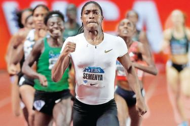 South African runner Caster Semenya