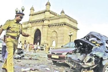 A series of explosions that rocked Mumbai on March 12, 1993. File photo of the Gateway of India after the 1993 Mumbai Blasts.