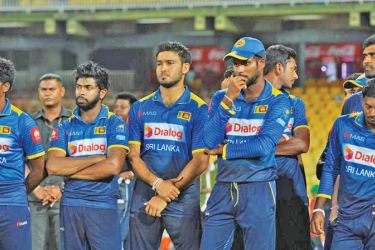 Sri Lanka has lost their long standing eighth position to the West Indies who have overtaken them and pushed them to ninth in the ODI rankings.