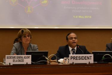 The UNCTAD Multi-Year Expert Meeting was in progress in Geneva..