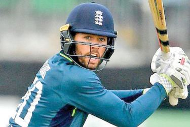Ben Foakes was one of three players making their one-day debut for England.