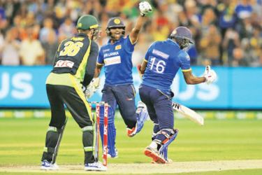 Sri Lanka and Australia will be involved in a three-match T20I series in Australia in October. (File photo)