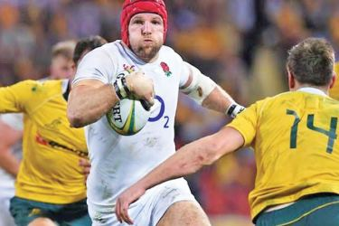 England legend James Haskell