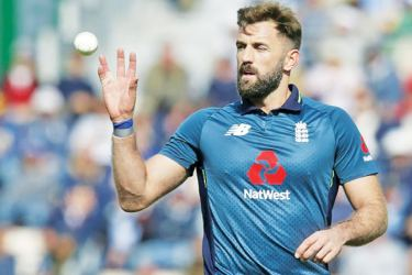 Liam Plunkett took two wickets as England won the second ODI. AFP
