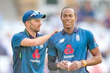 Mark Wood and Jofra Archer can bowl at 90 mph plus.