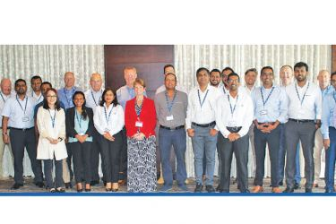 The participants at the event.